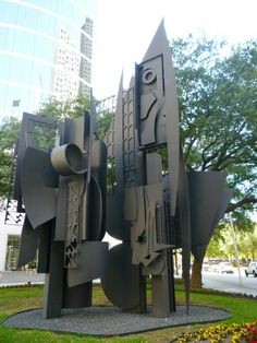 Frozen Laces - One (1979-1980) by artist Louise Nevelson | Repinned by @keilonegordon