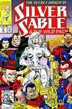 Silver Sable and the Wild Pack (1992) 9