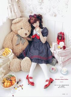 Lolita fashion - Misako Aoki