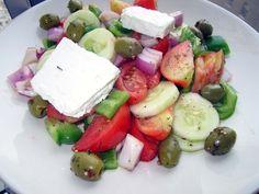 Cooking My Trip: Greek Salad.