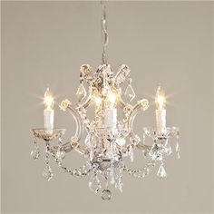 Small Crystal Chandelier photo - 1