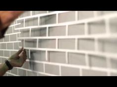 StoCreativ Brick: Create the Brick Look Right on Your Wall Bed Design, Wall Design, Exterior Paint, Exterior Design, Diy Wall, Wall Decor, Stencil Concrete, Stencil Wall Art, Faux Brick Walls