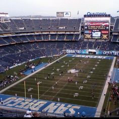 Qualcomm Stadium (Chargers). San Diego, CA