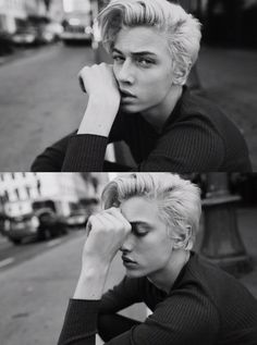 Lucky Blue Smith outtakes from Rollacoaster shoot