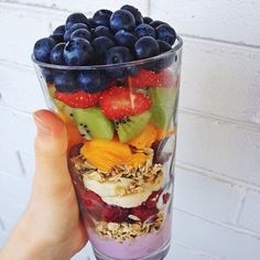 fruit & granola