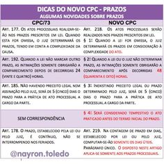 Dica Novo CPC Knowledge, Learning, Lawyer, Labor Law, Law School, Goals, Style, Studying