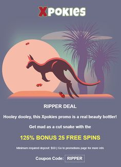 Use coupon code: RIPPER  This coupon can be redeemed once per day. Minimum required deposit: $25 Deposits lower than $25 will automatically receive 75% + 10 Free Spins only.  The free spins offered can be in different games each day. #australiancasinos #casinobonuscodes #bonuscodes #freebonus #freespins #auscasino #couponcodes Different Games, Casino Bonus, Real Beauty, Online Casino, Reign, Coupon Codes, Spinning, Coding, Movie Posters