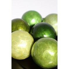 juegos de bolas ncar decoracin verdes set de juegos de bolas para