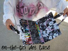 Free Art Case Tutorial by TinyCarmen