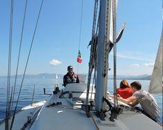 Corsi vela per gruppi e famiglie, ...scopri la vela divertendoti. Groups or families sailing courses