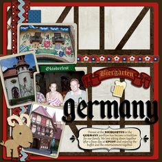 Germany layout ... I like the wooden beam look in the background.