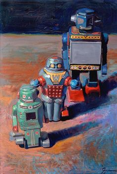 Galleries - Eric Joyner Robots and Donuts Artist