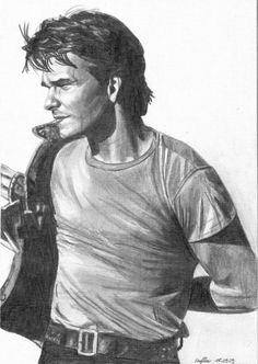 Patrick Swayze by chilipeppers1