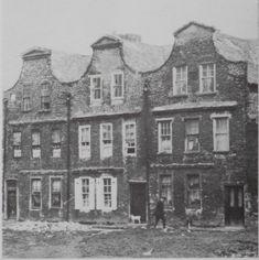 'Dutch Billys', Sweeney's Lane, Dublin. Late 17th/early 18th century in date