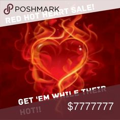 ❤ 3 for $55 All Items Marked With A Heart ❤ 3 for $55 !!! All Items Marked With A Heart. 1- Bundle 3 hearts  2- Offer $55.  3- I'll accept, wrap them up and send them on their way.  Have a Flaming Hearts Shopping Trip.💗💗💗 Jewelry