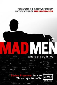 Mad Men//AMC-just started watching this in  Season 5. I have some serious catching up to do :)