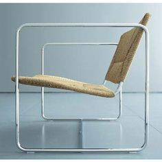 'K Chair' Lounge Chair, Designed by Wolfgang Tolk for Living Divani
