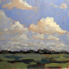 Cloud Shadows Landscape Impressionism Heidi Malott, painting by artist Heidi Malott