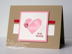 Julie's Stamping Spot -- Stampin' Up! Project Ideas by Julie Davison: Faux Iris Twist Quilted Valentine Cards