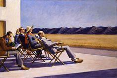 realismo arte Pintura Edward Hooper Edward Hopper (la soledad de un imperio) realismo