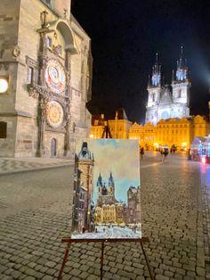 #katiefeygieartgallery #katiefeygieart #artprague #pragueart #katiěsrgolin #artgalleryprague #paintingofprague #cityscape #art #painting #prague #oldtownprague #praguelife Cityscape Art, Prague, Old Town, Big Ben, Art Gallery, Building, Painting, Travel, Life