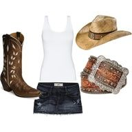 Rodeo outfit for St. Paul rodeo next month!