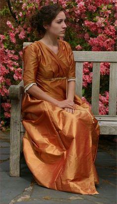 Would make a lovely bridesmaid dress! Nice shade, too. :)