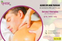 Gift yourself 120 minutes of sheer indulgence at #AlcorSpa.For booking visit us at: http://alcorspa.in/book-appointment/ or call us at: +91-9015191926#AlcorSpa #BodySpa #SpaTreatments #MiniPackage #BestSpaInGurgaon #Delhi #BookAppointment