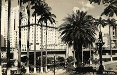 Vale do Anhangabau, circa 1951 - Sao Paulo, Brazil