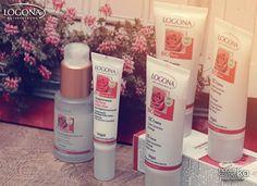 ¡Ampliamos la lína facial de Logona! - Serum Hidratante Rosas & Aloe - CC Cream - Crema contorno de ojos Rosas & Aloe Formulada para contrarrestar las carencias de las pieles secas y desvitalizadas.