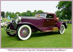 1928 Isotta-Fraschini Tipo 8A S Boattail Speedster by LeBaron| Flickr - Photo Sharing!