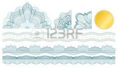 2,950 Certificate Border Guilloche Stock Illustrations, Cliparts ...
