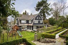 Terraced back yard. Seattle Home for Sale, Bennion & Deville