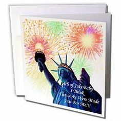 Edmond Hogge Jr 4th Of July - 4th Of July Birthdays - Greeting Cards-12 Greeting Cards with envelopes by 3dRose. $15.95. 4th Of July Birthdays Greeting Card is measuring 5.5w x 5.5h. Greeting Cards are sold in sets of 6 or 12. Give these fun cards to your friends and family as gift cards, thank you notes, invitations or for any other occasion. Greeting Cards are blank inside and come with white envelopes.. Save 20% Off!