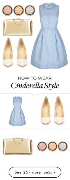 """""""Untitled #46"""" by rach-greenwell on Polyvore featuring Chloé, Christian Louboutin, By Terry, women's clothing, women's fashion, women, female, woman, misses and juniors"""