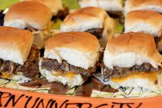 Gameday Sliders - Similar to Mrs. Bates'