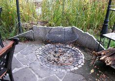 Feuerstelle Gartenprojekte Diy Pinterest