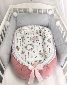 Delux Baby nest with removable cover, baby nest sleeper double-sided baby nest for newborn snuggle nest, baby Cocoon bed, Co Sleeper - Chętnie udostępniam ten artykuł z mojego sklepu Baby nest for a newborn baby, baby nest s - Portable Baby Cribs, Snuggle Nest, Baby Nest Bed, Newborn Bed, Co Sleeper, Baby Cocoon, Baby Cover, Baby Education, Baby Makes