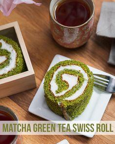 Matcha Green Tea Swiss Roll