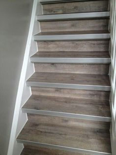 Create the design of your Barndominium Stairs or let BarndominiumFloorPlans provide models for you. You can have a choice with us. We provide Barndominium Floor Plans Metal Barn Homes, Metal Building Homes, Pole Barn Homes, Redo Stairs, Staircase Makeover, Paint Stairs, Stairs In Kitchen, Basement House, Rustic Stairs