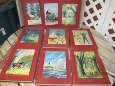 Vintage 1955 The Bookshelf for Boys and Girls Complete Set Volume 1 - 10 University Society Children's Books by EvenTheKitchenSinkOH on Etsy