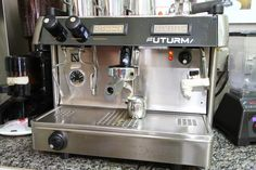 Espresso Machine Village Coffee, Gourmet Sandwiches, Homemade Ice Cream, Espresso Machine, Latte, Coffee Maker, Kitchen Appliances, Home Ice Cream, Coffee Milk