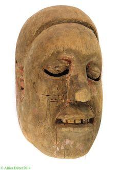 Ibibio Anang Mask Mfon Ekpo Mask Nigeria African - Ibibio - African Masks