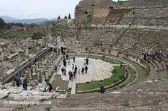 Theater Teatro Ephesus Efeso - Ephesus Efeso - Turkey Asia Bizancium Bitinia Cilicia Lydia Ponto - Asia - Locations - Ruinas Romanas - Roman…