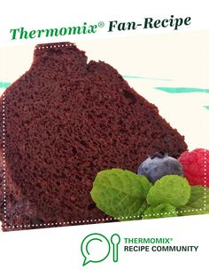 """Recipe """"Magic Bean"""" chocolate cake by Sarah Wong, learn to make this recipe easily in your kitchen machine and discover other Thermomix recipes in Baking - sweet. Healthy Cake, Healthy Sweets, Healthy Kids, Healthy Food, Healthy Eating, Magic Bean Cake, Bellini Recipe, Thermomix Desserts, Thermomix Chocolate Cake"""