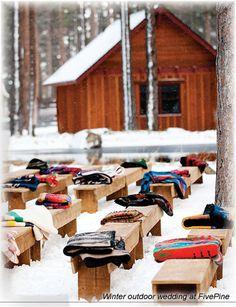 winter wedding oregon