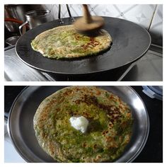 Craving some comfort Indian food?  Here's a simple recipe for Green Peas Parantha straight from the heart of India.  https://kitchenpostcards.wordpress.com/2014/01/26/dilli-a-foodies-delight-and-peas-paanthe/