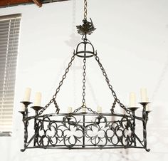 French Iron Fixture image 2