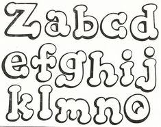 abecedario estilo prodigiosa - Buscar con Google