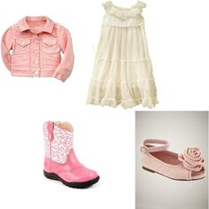 Skye's Birthday - tulle dress and boots, created by #bellasaraceno on #polyvore. #fashion #style #GAP CC SKYE